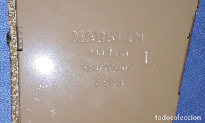 Trenes Escala: DESVIO IZQUIERDO MARKLIN 5203 H0 VIA M ORIGINAL MADE IN GERMANY - Foto 3 - 213331746