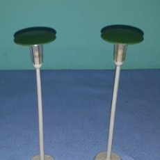 Trenes Escala: 2 FAROLAS MARKLIN 448/4 H0 VIA M ORIGINAL MADE IN GERMANY. Lote 213526350