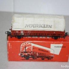 Trenes Escala: ANTIGUO VAGÓN DE MERCANCÍAS MARKLIN.. Lote 214915227