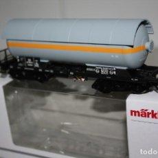 Trenes Escala: ESPECTACULAR VAGÓN CISTERNA DE MARKLIN. Lote 215315601