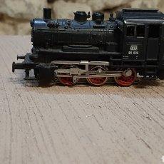 Trenes Escala: LOCOMOTORA VAPOR DB MARKLIN H0 89 006 CORRIENTE ALTERNA FUNCIONA. Lote 215412696