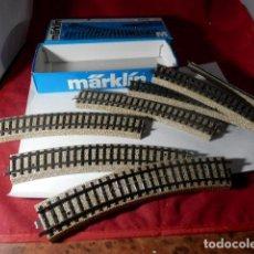 Treni in Scala: LOTE VIAS ESCALA HO DE MARKLIN. Lote 218046376