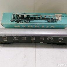Trenes Escala: VAGON DE TRANSPORTE MARKLIN 4026, CON CAJA, LARGO 25 CM, MADE IN GERMANY. Lote 218419605