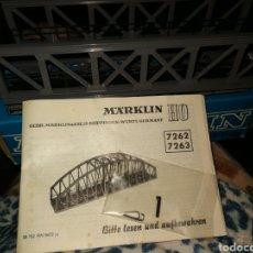 Trenes Escala: MARKLIN 7262. Lote 219107641