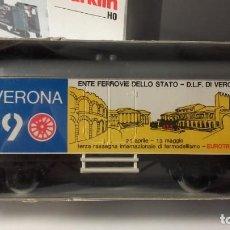 Trains Échelle: VAGON MÄRKLÍN HO. CONMEMORATIVO FERIA FERROMODELISMO. VERONA.. Lote 219561263