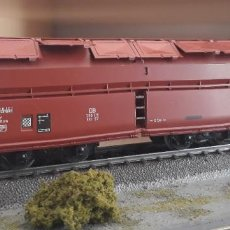 Trains Échelle: MARKLIN H0 VAGÓN GRAN TOLVA CON APERTURAS SUPERIORES, DE LA DB, REFERENCIA 4626.. Lote 220888213