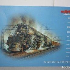 Trenes Escala: CATÁLOGO MARKLIN SHOP 2004.. Lote 221336320