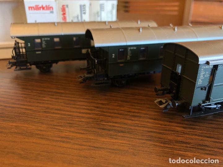 Trenes Escala: Vagones Märklín 4313, 4314 y 4315 H0 - Foto 2 - 221543167