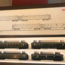 Trenes Escala: CAJA VAGONES MÄRKLÍN 42750 H0. Lote 221572237