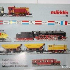 Trenes Escala: CATÁLOGO MARKLION 1990. Lote 221986433