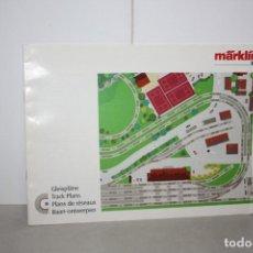 Trenes Escala: LIBRITO CIRCUITOS MARKLIN H0. Lote 222069820