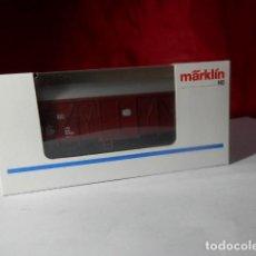 Trenes Escala: VAGÓN CERRADO ESCALA HO DE MARKLIN. Lote 222678971