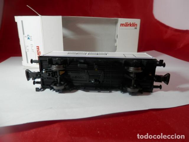 Trenes Escala: VAGÓN PORTACONTENEDOR ESCALA HO DE MARKLIN - Foto 14 - 222679563