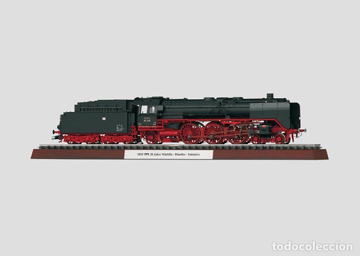 LOCOMOTORA DE VAPOR BR.01.118 MÄRKLIN. NO ELECTROTREN. NO ROCO. (Juguetes - Trenes a Escala - Marklin H0)