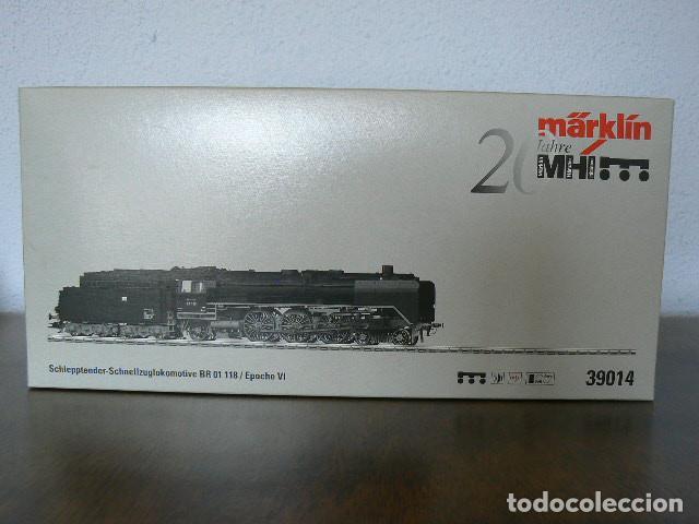 Trenes Escala: Locomotora de Vapor BR.01.118 Märklin. No Electrotren. No Roco. - Foto 6 - 225817755