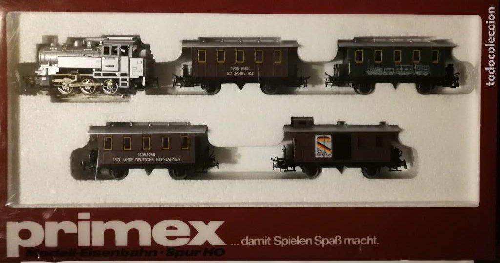 ESTUCHE PRIMEX MÄRKLIN SERIE LIMITADA 2750 (Juguetes - Trenes a Escala - Marklin H0)