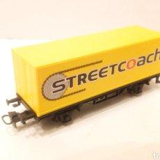 Trenes Escala: JIFFY VENDE VAGON MARKLIN H0 CONTENEDOR STREETCOACH. EDICIÓN PROCEDENTE DE CAJA DE INICIACIÓN.. Lote 227246145