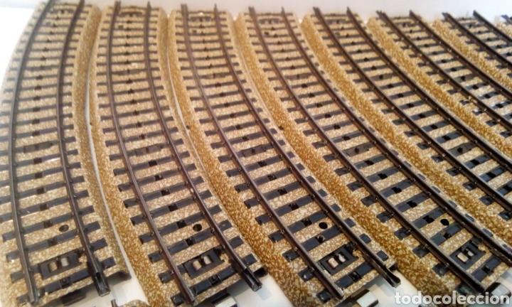 Trenes Escala: JIFFY VENDE 17 UNIDADES DE VIA M CURVA MARKLIN 5100 H0. LOTE EDE108 - Foto 2 - 227682635