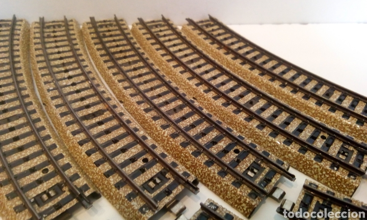 Trenes Escala: JIFFY VENDE 17 UNIDADES DE VIA M CURVA MARKLIN 5100 H0. LOTE EDE108 - Foto 3 - 227682635