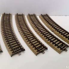 Trenes Escala: JIFFY VENDE 5 UNIDADES DE VIA M CURVA MARKLIN 5100 H0. LOTE EDE116. Lote 227697780