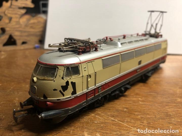 Trenes Escala: Locomotora marklin H0 3035 funcionando sin caja - Foto 3 - 230065595
