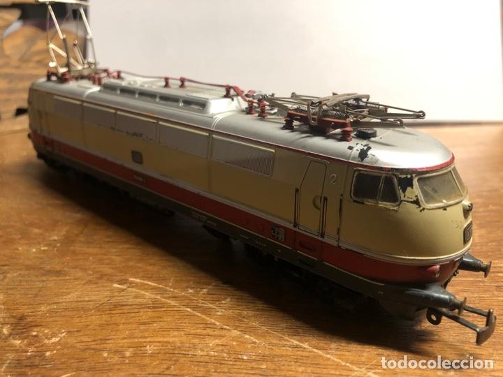 Trenes Escala: Locomotora marklin H0 3035 funcionando sin caja - Foto 4 - 230065595