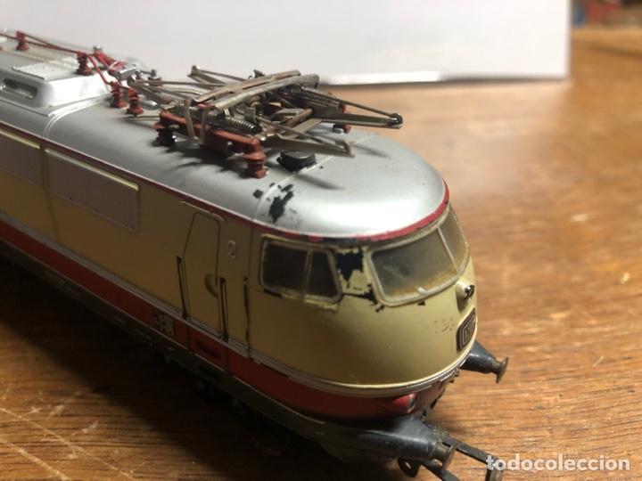 Trenes Escala: Locomotora marklin H0 3035 funcionando sin caja - Foto 6 - 230065595
