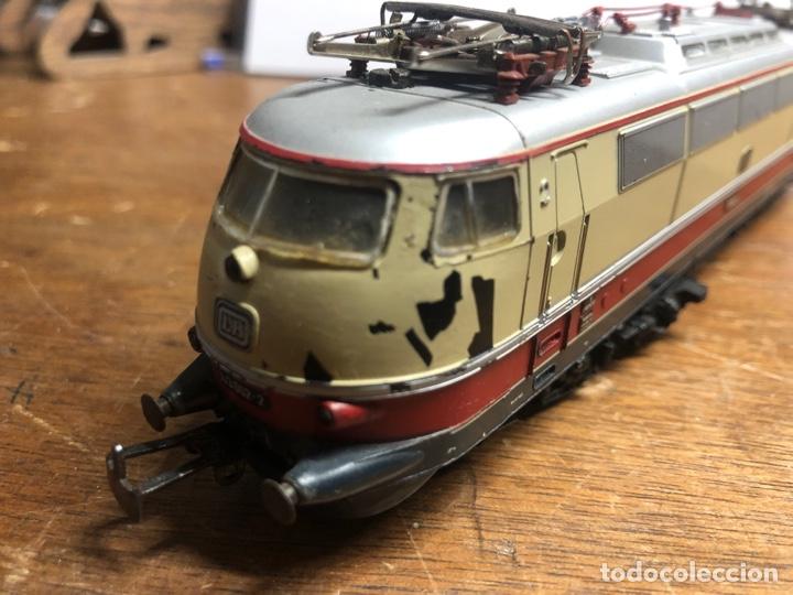 Trenes Escala: Locomotora marklin H0 3035 funcionando sin caja - Foto 7 - 230065595