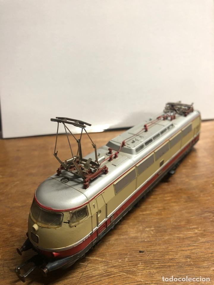 Trenes Escala: Locomotora marklin H0 3035 funcionando sin caja - Foto 2 - 230065595
