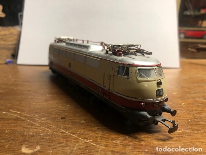 Trenes Escala: Locomotora marklin H0 3035 funcionando sin caja - Foto 2 - 230066860