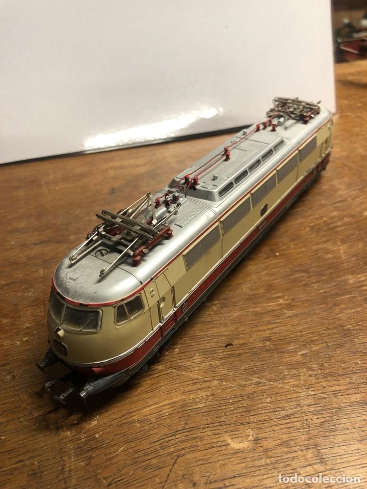 Trenes Escala: Locomotora marklin H0 3035 funcionando sin caja - Foto 3 - 230066860