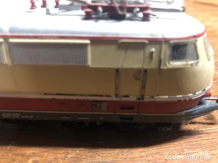 Trenes Escala: Locomotora marklin H0 3035 funcionando sin caja - Foto 5 - 230066860