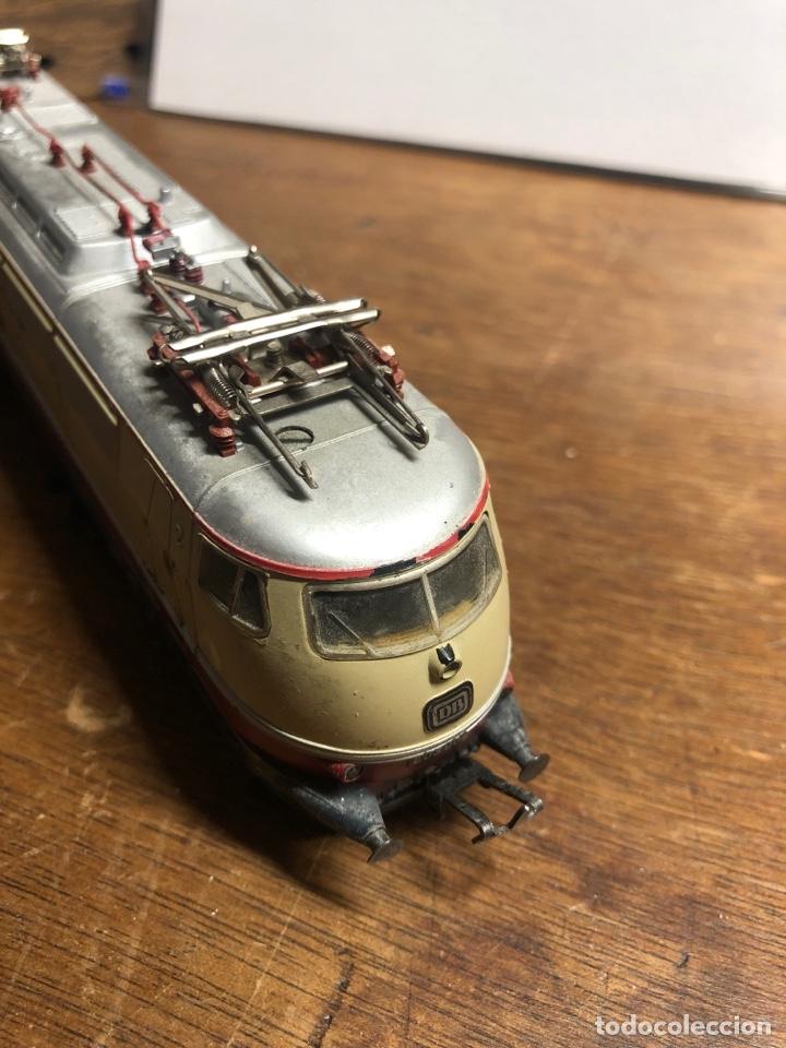 Trenes Escala: Locomotora marklin H0 3035 funcionando sin caja - Foto 6 - 230066860