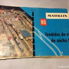 Trenes Escala: MARKLIN TENDIDOS DE VÍA ESCALA H0. Lote 231774430
