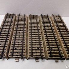 Trenes Escala: JIFFY VENDE 5 UNIDADES DE RECTA VIA M MARKLIN 5106 H0. LOTE INS03. Lote 231890000