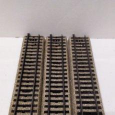 Trenes Escala: JIFFY VENDE 3 VÍAS RECTAS M MARKLIN 5106 H0. LOTE INS02. Lote 231892815