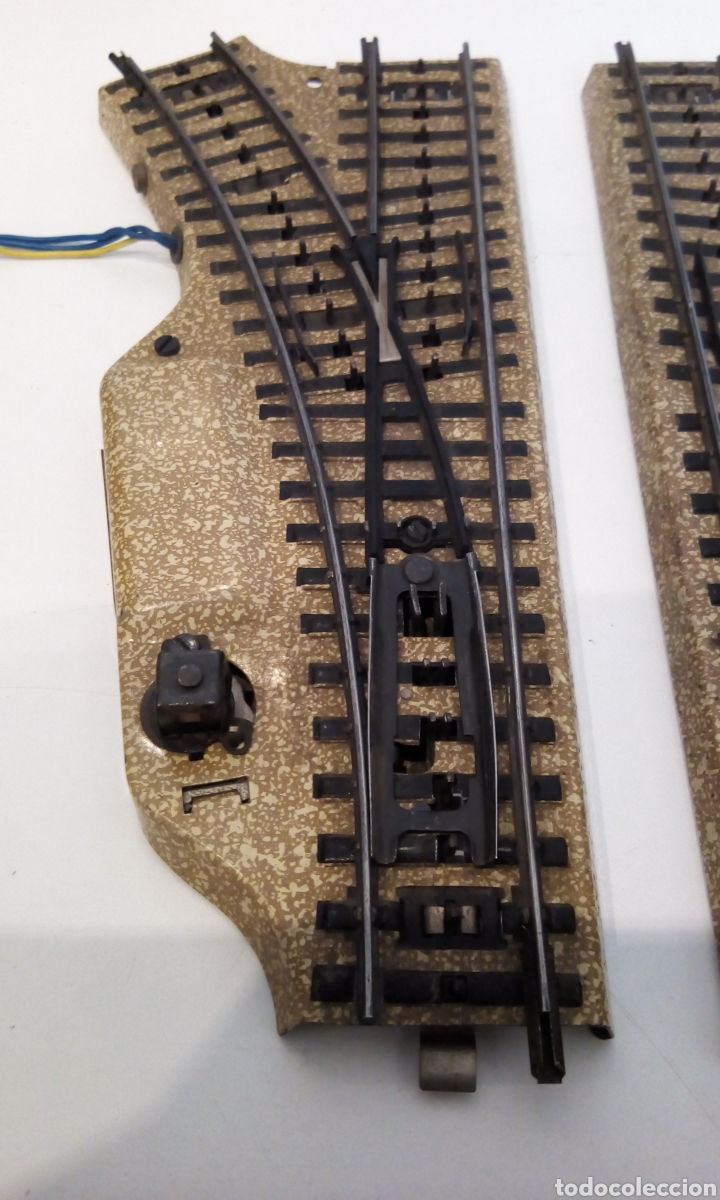Trenes Escala: JIFFY VENDE DESVÍOS MARKLIN VIA M H0 3601 IGUALES QUE PAREJA 5117 DE DESVÍOS 5118 Y 5119. LOT CAT113 - Foto 2 - 231989600