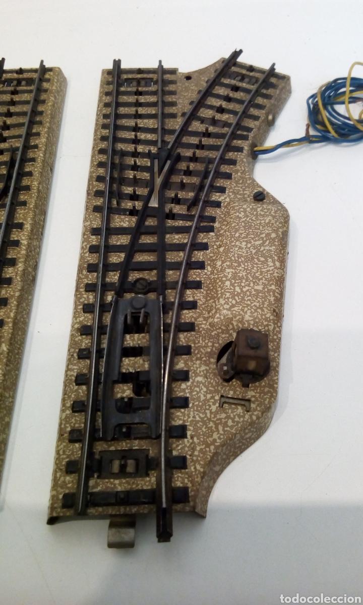 Trenes Escala: JIFFY VENDE DESVÍOS MARKLIN VIA M H0 3601 IGUALES QUE PAREJA 5117 DE DESVÍOS 5118 Y 5119. LOT CAT113 - Foto 3 - 231989600