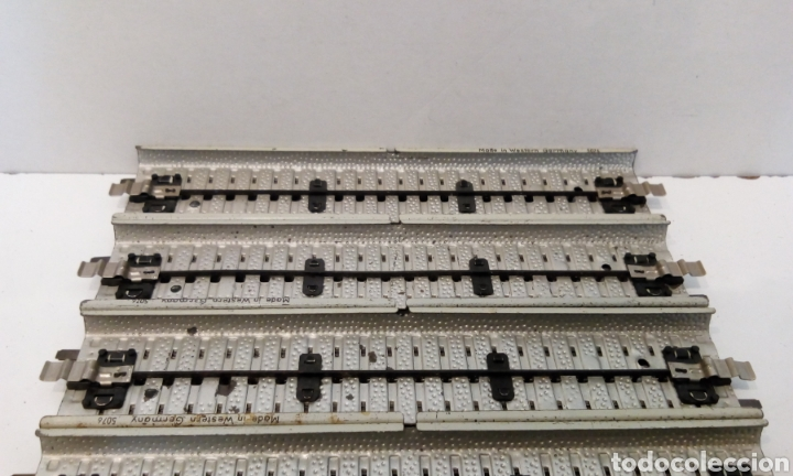 Trenes Escala: JIFFY VENDE 8 VÍAS RECTAS PRIMEX 5076 H0, IGUALES QUE LAS MARKLIN RECTAS 5106 PERO EN COLOR BLANCO. - Foto 4 - 231991550