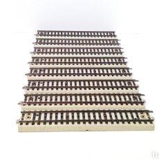 Trenes Escala: JIFFY VENDE 8 VÍAS RECTAS PRIMEX 5076 H0, IGUALES QUE LAS MARKLIN RECTAS 5106 PERO EN COLOR BLANCO.. Lote 231991550