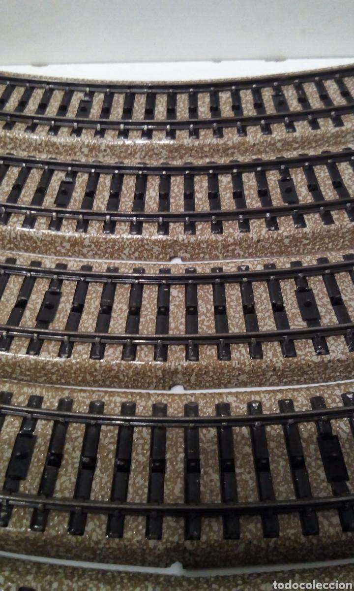 Trenes Escala: JIFFY VENDE 9 VÍAS M CURVAS MARKLIN 5120 H0. CON 8 VÍAS SE CONSTRUYE UN CÍRCULO COMPLETO. LCAT005. - Foto 4 - 232033950