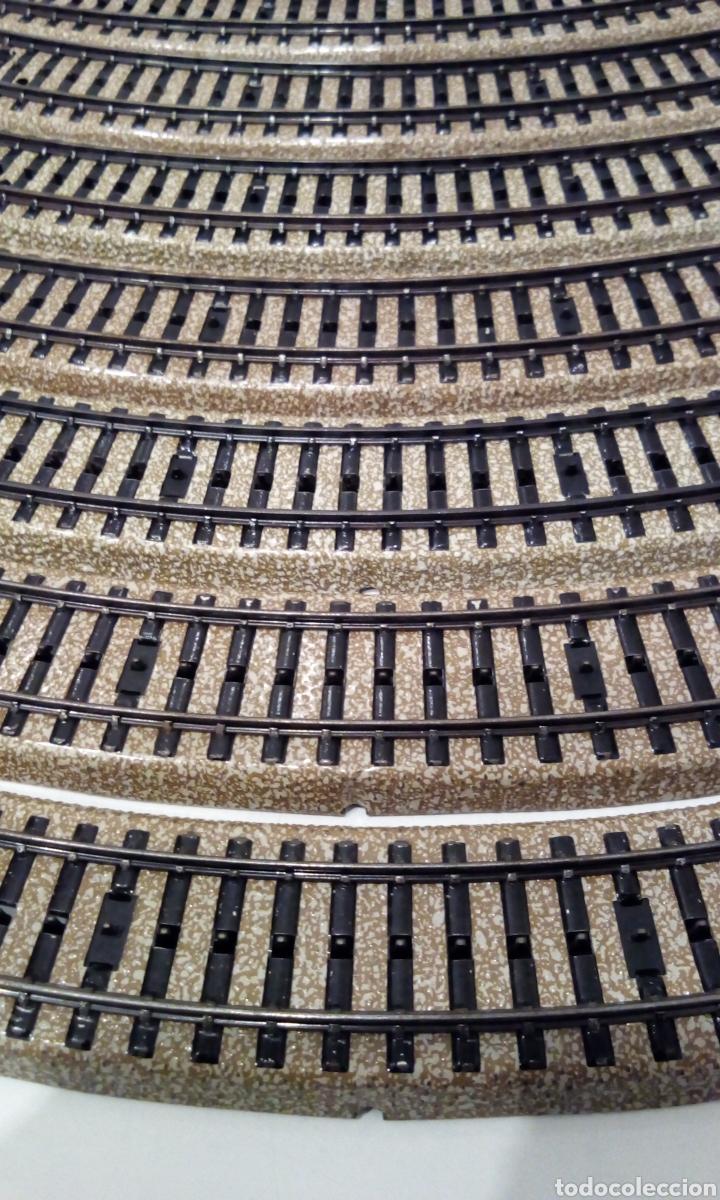 Trenes Escala: JIFFY VENDE 9 VÍAS M CURVAS MARKLIN 5120 H0. CON 8 VÍAS SE CONSTRUYE UN CÍRCULO COMPLETO. LCAT005. - Foto 5 - 232033950