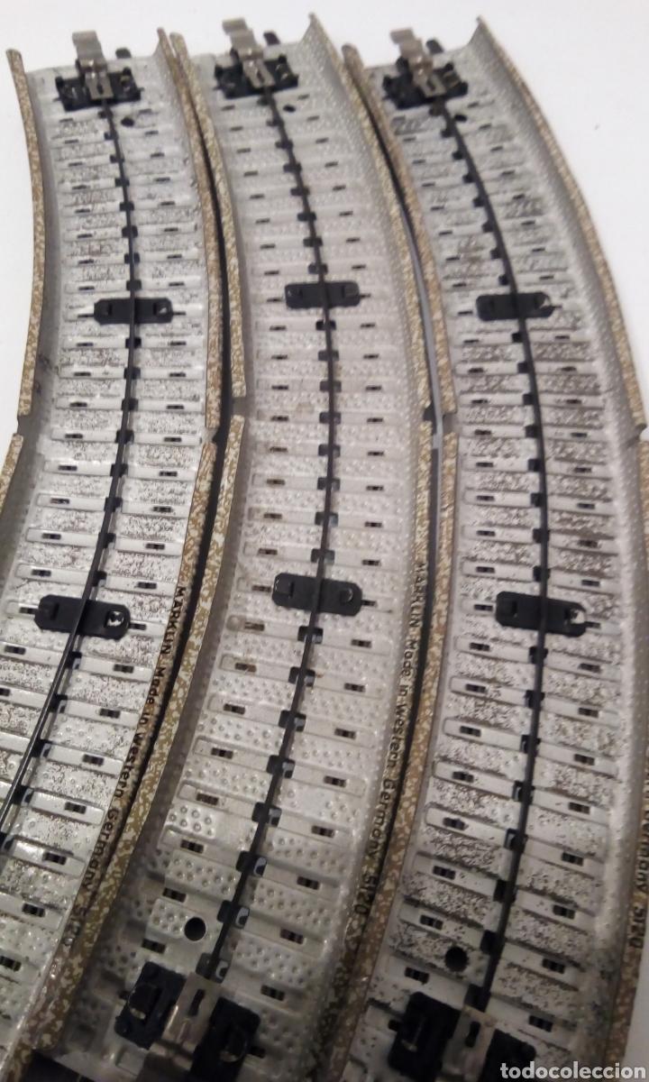 Trenes Escala: JIFFY VENDE 9 VÍAS M CURVAS MARKLIN 5120 H0. CON 8 VÍAS SE CONSTRUYE UN CÍRCULO COMPLETO. LCAT005. - Foto 10 - 232033950