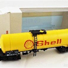 Trenes Escala: MARKLIN 4756 VAGÓN CISTERNA SHELL. Lote 233242185