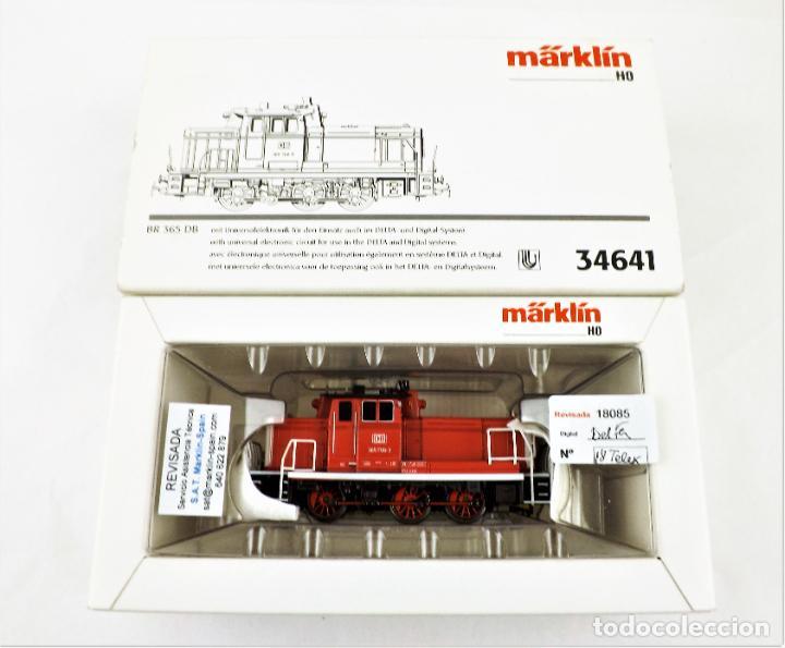 Trenes Escala: Marklin 34641 Locomotora BR 365 DB (Telex) - Foto 5 - 233281465