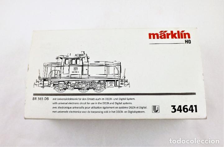 Trenes Escala: Marklin 34641 Locomotora BR 365 DB (Telex) - Foto 6 - 233281465
