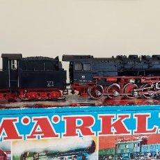 Treni in Scala: MARKLIN H0 DIGITAL LOCOMOTORA VAPOR BR 050, DE LA DB, REFERENCIA 3084, CON FUMÍGENO.. Lote 234127135