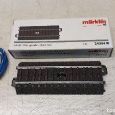Treni in Scala: MARKLIN H0 TRAMO DE VÍA C DE 94,2 MM PARA CONTROL A DISTANCIA, REFERENCIA 24994.. Lote 234129840