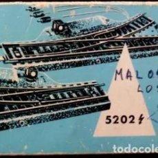 Treni in Scala: MARKLIN - FOTO 343 - 3 DESVIOS SIN MUELLLE. Lote 234355705