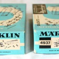 Treni in Scala: MARKLIN 4918 / 4937 (FORD) – LOTE 2 VAGONES / MAQUETAS PARA MONTAR. Lote 235001860